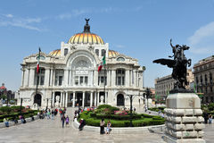 Palácio das belas artes de México Fotografia de Stock
