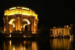 Palácio das belas artes na noite Fotografia de Stock