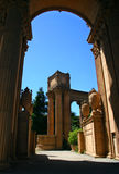 Palácio das belas artes, San Francisco Foto de Stock Royalty Free