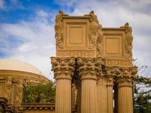 Palácio das belas artes, San Francisco Fotos de Stock