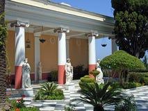 Palácio de Achillion Fotografia de Stock