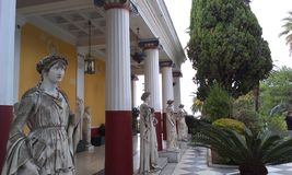 Palácio de Achillion Imagens de Stock Royalty Free