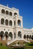 Palácio de Aga Khan, Pune, Maharashtra, India Foto de Stock Royalty Free