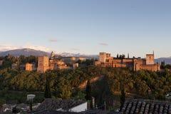 Palácio de Alhambra Fotografia de Stock