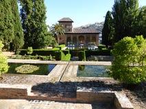 Palácio de Alhambra em Granada, Spain foto de stock royalty free