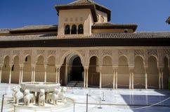 Palácio de Alhambra, Granada, Espanha Fotografia de Stock