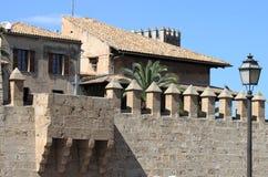 Palácio de Almudaina em Palma de Maiorca Fotografia de Stock
