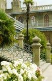 Palácio de Alupcians de Rússia Foto de Stock Royalty Free