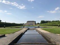 Palácio de Augustusburg em Bruhl Rhineland, Alemanha imagens de stock
