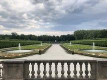 Palácio de Augustusburg em Bruhl Rhineland, Alemanha foto de stock royalty free