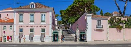 Palácio de Belém Fotos de Stock Royalty Free