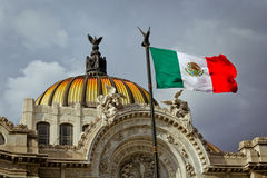 Palácio de Bellas Artes em Cidade do México Imagem de Stock