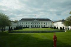Palácio de Bellevue, residência de Berlim do presidente fotos de stock