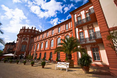 Palácio de Biebrich em Wiesbaden Foto de Stock