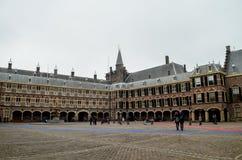 Palácio de Binnenhof Fotos de Stock Royalty Free