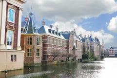 Palácio de Binnenhof no antro Haag fotografia de stock royalty free