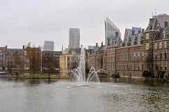 Palácio de Binnenhof - Parlament holandês Fotos de Stock Royalty Free