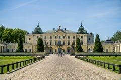 Palácio de Branicki em Bialystok imagem de stock royalty free