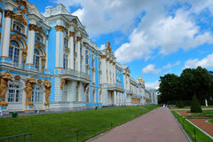 Palácio de Catherine, Rússia Fotografia de Stock
