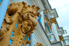 Palácio de Catherine, Rússia Fotografia de Stock Royalty Free