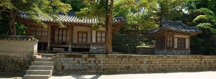 Palácio de Changdeok - jardim secreto, Coreia do Sul Imagens de Stock Royalty Free
