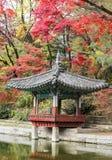 Palácio de Changdeokgung, Coreia do Sul foto de stock