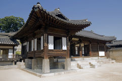 Palácio de Changdeokgung, Seoul Imagens de Stock Royalty Free