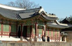 Palácio de Changdeokgung, Seoul coreia foto de stock