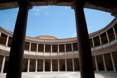 Palácio de Charles V (Palacio de Carlos V) Fotos de Stock Royalty Free