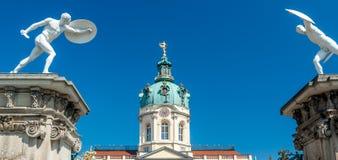 Palácio de Charlottenburg Foto de Stock Royalty Free
