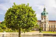 Palácio de Charlottenburg em Berlim, Alemanha Fotografia de Stock Royalty Free
