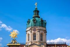 Palácio de Charlottenburg em Berlim, Alemanha Fotos de Stock