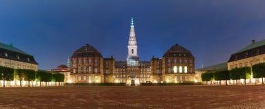 Palácio de Christiansborg em Copenhaga, Dinamarca fotos de stock royalty free
