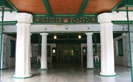 Palácio de Cirebon Kasepuhan Foto de Stock