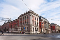 Palácio de Cluj Napoca-The de justiça Imagem de Stock Royalty Free
