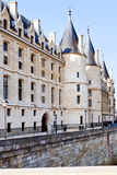 Palácio de Conciergerie em Paris Fotos de Stock