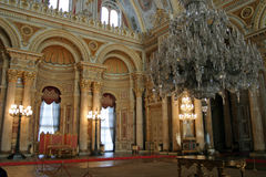 Palácio de Dolmabahce em Istambul imagens de stock
