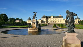 Palácio de Drottningholm video estoque