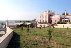 Palácio de Estoi, um trabalho da arquitetura romântica original dentro Fotografia de Stock