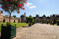Palácio de Fontainbleau Fotos de Stock