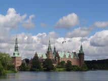 Palácio de Frederiksborg, Hillerød, Dinamarca Imagem de Stock Royalty Free