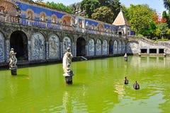 Palácio de Fronteira em Lisboa, Portugal Fotos de Stock Royalty Free