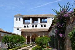 Palácio de Generalife, Granada, Spain Imagem de Stock
