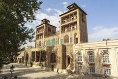 Palácio de Golestan em Tehran, Irã fotos de stock royalty free
