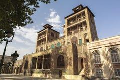 Palácio de Golestan em Tehran, Irã imagem de stock royalty free