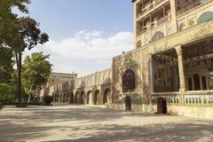 Palácio de Golestan em Tehran, Irã foto de stock royalty free