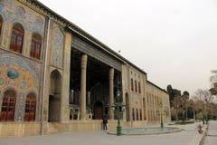 Palácio de Golestan, Tehran, Irã Imagens de Stock Royalty Free
