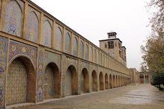 Palácio de Golestan, Tehran, Irã Imagem de Stock