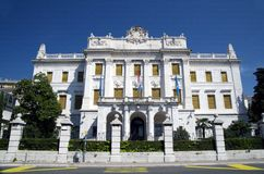 Palácio de Governor's em Rijeka, Croácia Fotografia de Stock Royalty Free