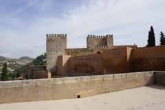 Palácio de Granada Foto de Stock Royalty Free